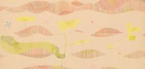 江上茂雄 1960年代 水彩、色鉛筆