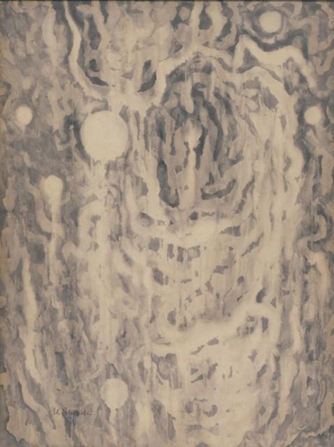 上田宇三郎「水」1961年