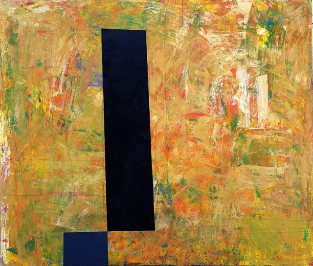 古川吉重「L14-2」1993年、油彩・画布、個人蔵