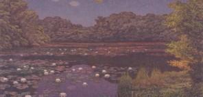 「すいれんの池」1949年