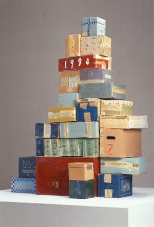 日比野克彦「「日本文化デザイン会議'94福岡」シンボルオブジェ」1994年、当館蔵
