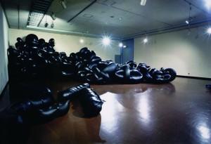 個展(1998年、福岡市美術館)