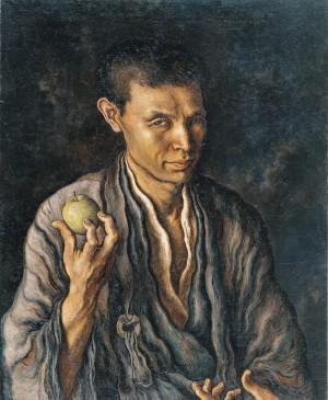 第1章「りんごを手にした自画像」