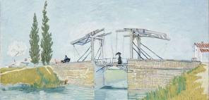 フィンセント・ファン・ゴッホ《アルルのはね橋》1888年