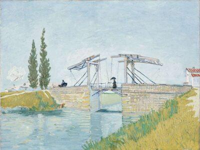 フィンセント・ファン・ゴッホ 《アルルのはね橋》1888年 ヴァルラフ=リヒャルツ美術館&コルブー財団、ドイツ、ケルン