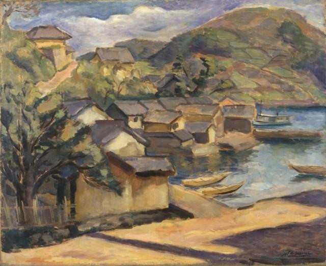 (第6章)真隅太荘「漁村」