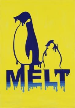 山下 美結 《MELT》 第72回福岡県美術展覧会 デザイン部門  県知事賞