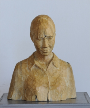 山口 幸代 《ひととき》 第72回福岡県美術展覧会 彫刻部門 県知事賞