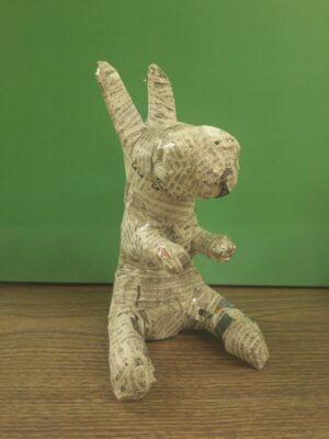 ウサギ写真(服なし)加工2