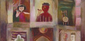 古賀春江「窓」1927年、当館蔵