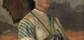 ギュスターヴ・クールベ「マドモワゼル・オーブ・ドゥ・ラ・オルド」 1865年、グラスゴー、バレル・コレクション © CSG CIC Glasgow Museums Collection