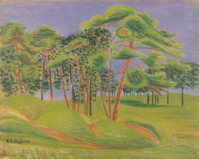 児島善三郎「代々木の原」1934年 当館蔵