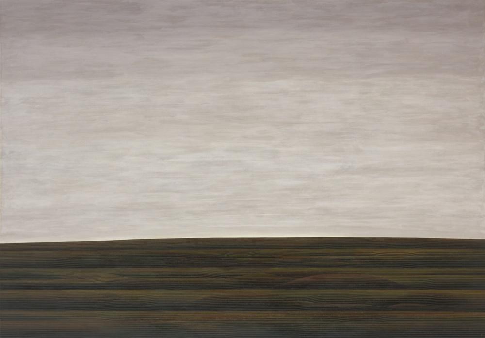 「風景No.4」1981年、油彩・画布