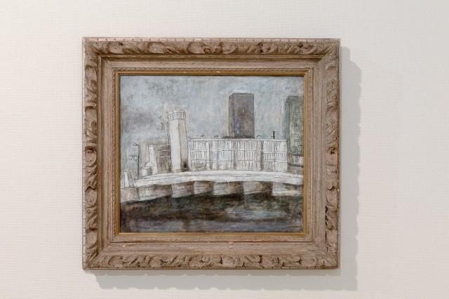 菱川辰也「風景/Susaki Bridge」(2007年、展覧会出品作)