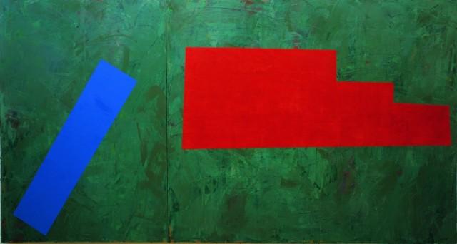 古川吉重「L9-4」1990年、北九州市立美術館蔵