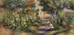 ピエール・オーギュスト・ルノワール「画家の庭」1903年頃 グラスゴー、ケルヴィングローヴ美術博物館蔵 © CSG CIC Glasgow Museums Collection