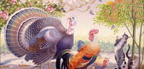 板谷 房「春」昭和38年(1963)  油彩・画布 130.0×162.0㎝